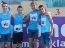 Veseli zmagovalci fantje štafeta U14 4x200 (Large)